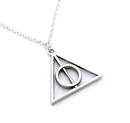 necklace-and-metal-pendant-series-harry-potter-model-the-deathly-hallows-silver-color