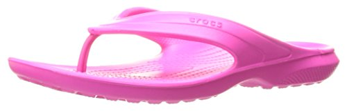 Crocs Unisex-Erwachsene Classicflip Flip Flops, Pink (Neon Magenta), 39/40 EU