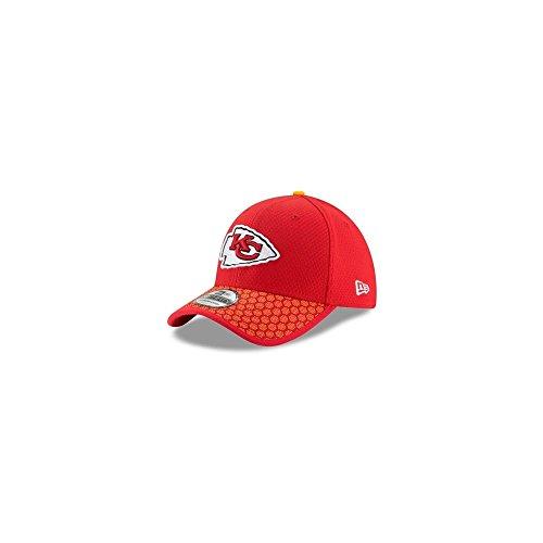 New Era 39Thirty Cap - NFL 2017 SIDELINE Kansas City Chiefs,Red,S/M