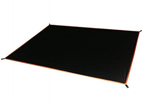 GEERTOP 20D Ultraleichte Wasserdichte 2-Personen Schutzplane/Gewebeplane /Zeltplanen/Zeltmatte/Zeltunterlage (225g) Für Zelt, Wanderungen, Camping, Picknick (210cm*130cm)