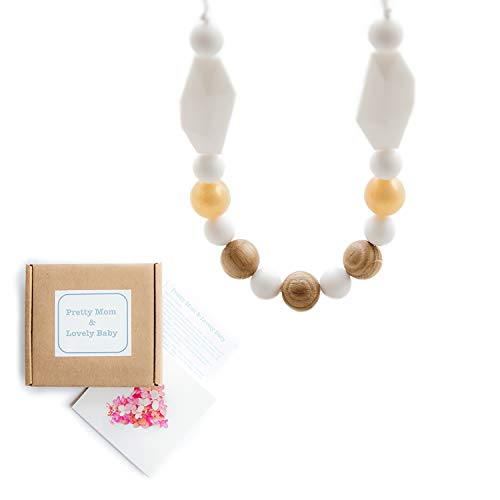 Organic Teething Relief · 1 Natural Teething Necklace For Mom Bpa Free Beads · 1 Firm In Structure Teethers Feeding