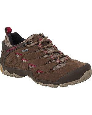 Merrell Chameleon 7 Gore-Tex Chaussures de Marche pour Femme, Pierre, 37.5