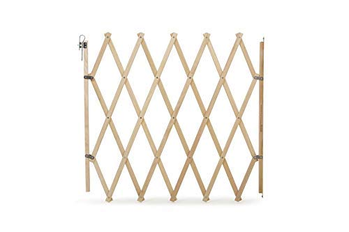 Bettacare 10660 - Barrera Para Mascotas, Extensible, 60 -108cm, Madera Natural
