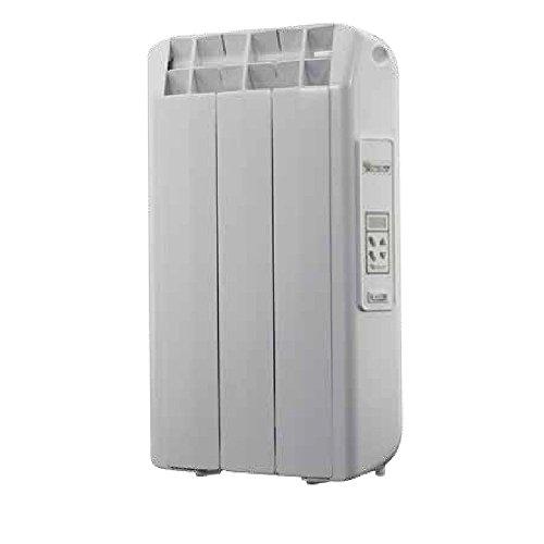 Farho - Emisor Térmico de fluido XANA PLUS con 330 W , con Crono-Termostato Digital programable y opción domotizable . Radiador Eléctrico de bajo consumo 3 elementos . Radiadores Eléctricos 100 % fabricados en España y con 20 AÑOS DE GARANTIA