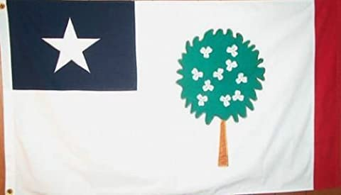 3X5 Ft Magnolia Tree Mississippi Repub State Of Flag by 3X5 Ft Magnolia Tree Mississippi Repub State Of Flag ...