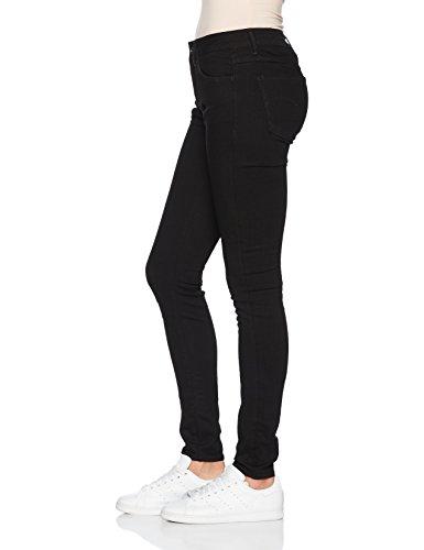 G-STAR RAW Damen Skinny Jeans Schwarz (Rinsed 082)
