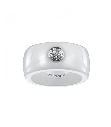 Bague Céramique et argent Ceranity 1-12/0021-B