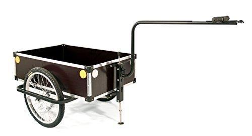 ROLAND Fahrrad-Anhänger PROFI: B wetter- und schlagfest höhenverstellbar 120 Liter