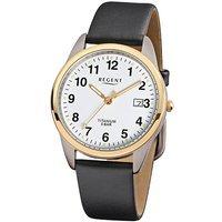Regent reloj de pulsera para hombre estándar de piel Titan
