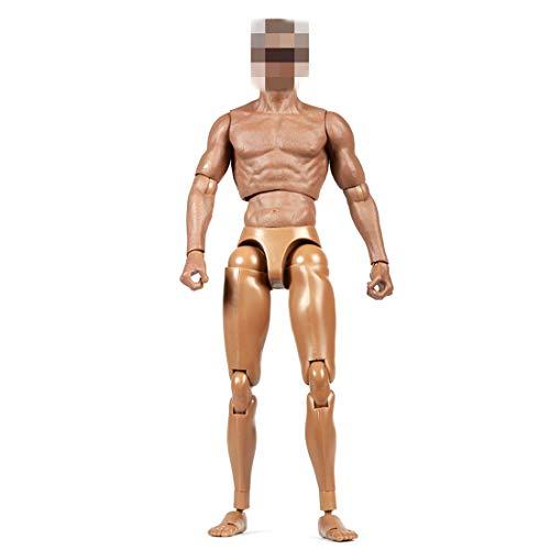 Batop Figur Männlich, 1/6 Action Figure Mann Körper Figuren Männlich Body für Soldat Modell, Rollenspiele, Fotografie (Enthält keinen Kopf )