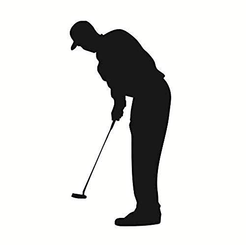 Wohnzimmer Sport Silhouette Wandbild Wohnkultur Golf Forward