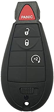 غطاء جراب بديل لأداة Key Fob من Horande لـ Chrysler Town Dodge Durango Grand Caravan Journey Ram 1500 2500 350