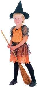 re orange 92/104 cm (Kostüm Sorciere)