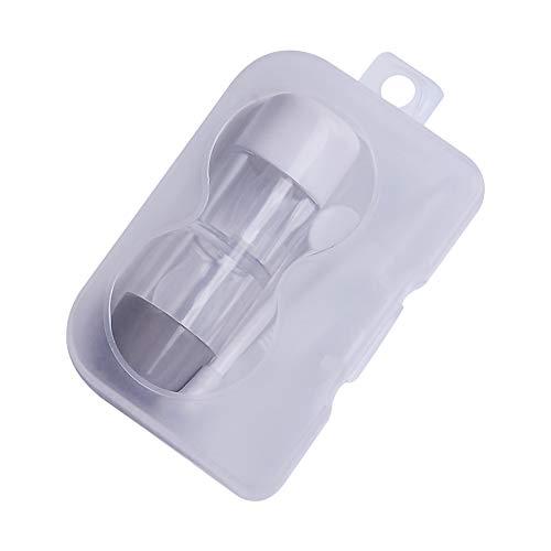 Topsaire Kontaktlinsenbehälter Weiche Linsen Hoch Reise Grau RGP Box PP Box Set Kontaktlinsen Box Linsenbehälter Pflegelösung Behälter Kontaktlinsen-Etui Multifunktions Partner(eins zu eins) - Rgp-linsen