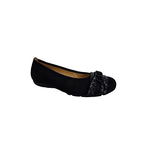 Gabor 34-166-37, Ballerines femme Black