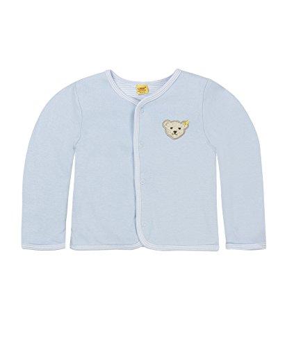 Steiff Steiff Unisex Sweatshirt 6617, Blau Baby Blue 3023, (Herstellergröße: 56)