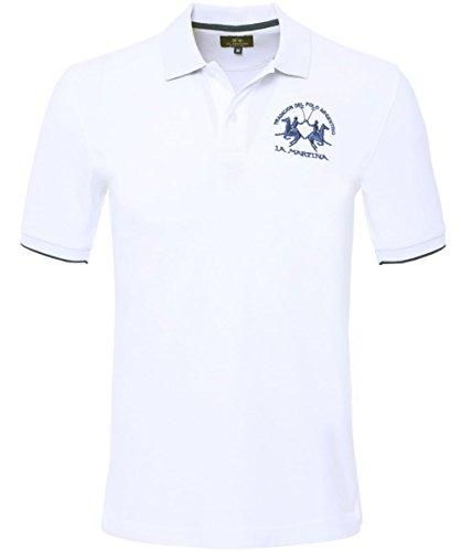 la-martina-plain-polo-shirt-blanc-xxxl