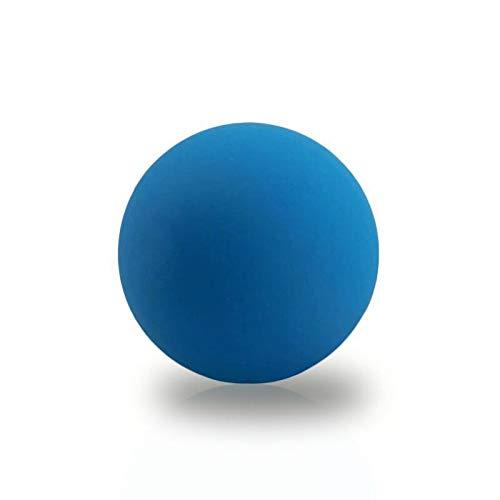 Massagegebälle Natürliche Silikon Hand Sohlen Akupunkturpunkte Faszien Ball Muskelentspannung Fitness 2 Stück, blau
