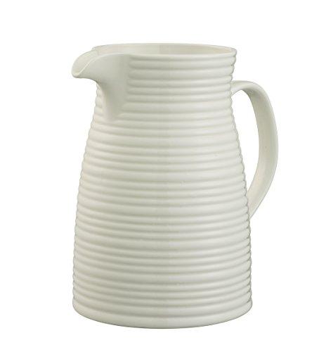 Belleek Pottery Ripple Krug, weiß -