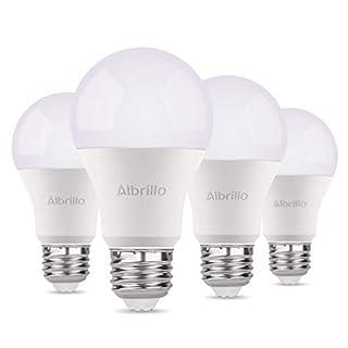 Albrillo E27 LED Klassic Lampe 9W | Ersetzt 70 W Glühlampen | A60 E27 Leuchtmittel | 800 Lumen | 3000 K Warmweiß | 4er Pack