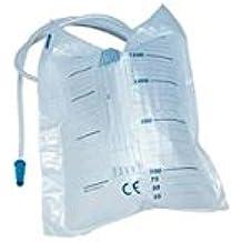 Intermed–Sacche Orinal de cama de 2litros sin desagüe (Tubo 90cm)–(Paquete de 30unidades)
