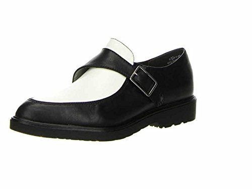 Tamaris Trend 24701, Chaussures montantes femme Multicolore (Black/White 5)