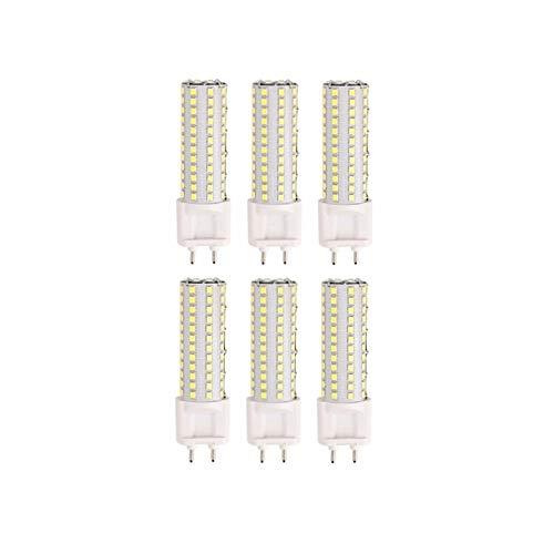 G12 LED-Glühlampen 10 Watt LED G12-Glühlampe, 100W G12-Glühlampen, G12-Sockel-LED-Maisglühlampe für Straßen-, Lager-, Garagenbeleuchtung 6-Pack-LED-Beleuchtung LED-Glühbirne ( Farbe : Kaltes Weiß ) -