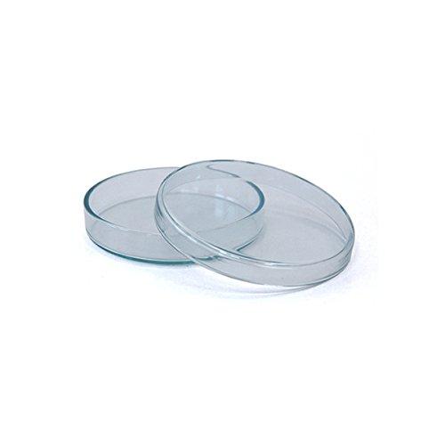 3 x Petrischale 90x15mm aus Kalk-Soda-Glas ohne Nocken - bis 135°C im Autoklaven sterilisierbar - Petrischalen, Kulturschale, Agar Agar Schale, Zellkulturschale, Kulturschalen, Agar Agar Schalen, Zellkulturschalen