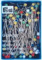 Prym-Glass-Headed-Pins-Multi-Colour