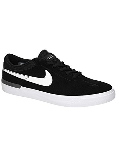 sale retailer 23c60 2b49b Nike Herren SB Koston Hypervulc Skaterschuhe, Schwarz (Schwarz  (Schwarz Weiß-Dunkelgrau