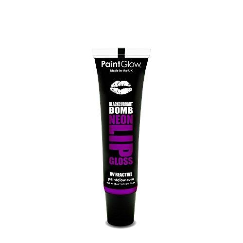 Paintglow UV Neon Lipgloss 15ml (Blackcurrant Jack)