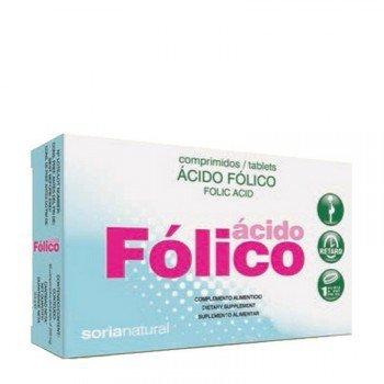 Soria Natural Acido Fólico Retard - 48 Cápsulas