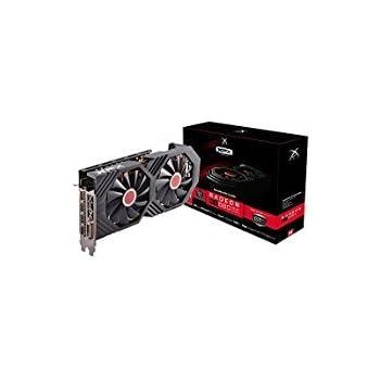 XFX - Tarjeta Gráfica AMD Radeon RX 580 8GB GDDR5 PCI Express 3.0 – Negro RX-580P8DBDR.