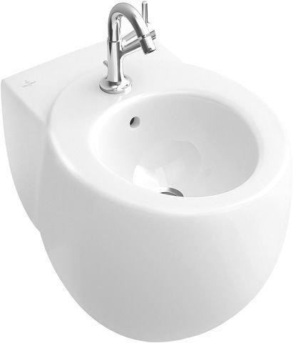 Villeroy & Boch Bidet Aveo 741100 400x590mm Weiß Alpin Ceramicplus, 741100R1