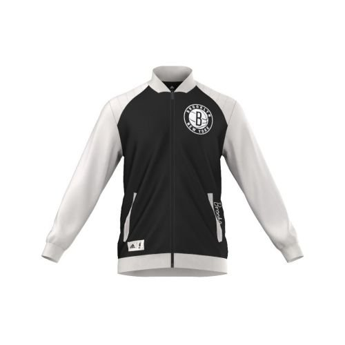 adidas Performance WSHD FZ TCK Top Veste de Basketball Homme Noir Brooklyn Nets