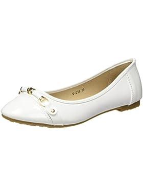 Materiale bianco bi ballerine