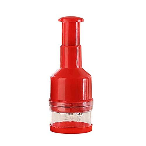 Gebuter Drücken von Essen Chopper Cutter Slicer Peeler Dicer für Küche Gemüse Zwiebel Knoblauch - Knoblauch-peeler Slicer