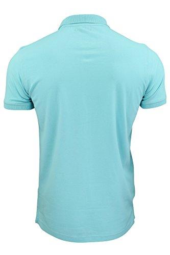 Brave Soul - Herren Polo Shirt 'Fyodor' Blue Radiance