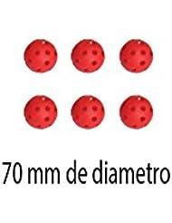 PELOTA HOCKEY DURA -AGUJEROS 70