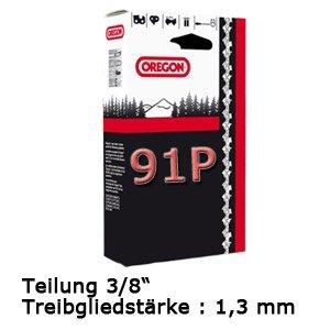 Oregon 3/8P-1,3-52 Chaîne de tronçonneuse pour appareils Dolmar, Einhell, Makita 35cm