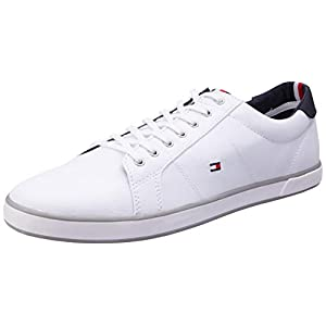 Tommy Hilfiger H2285arlow 1d, Men's Low-Top Sneakers, Broken White (White), 9 UK (43 EU)