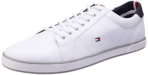 Tommy Hilfiger Herren H2285arlow 1d Low-Top, Weiß (Bianco), 39 EU