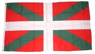 FahnenMax drapeau de l'espagne, du pays basque, 90 x 150 cm