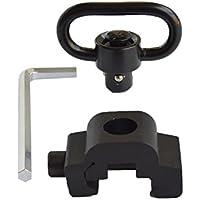 Mifz QD Sling - Soporte giratorio para riel de 20 mm Picatinny Weaver (distancia rápida, 1,25 pulgadas)