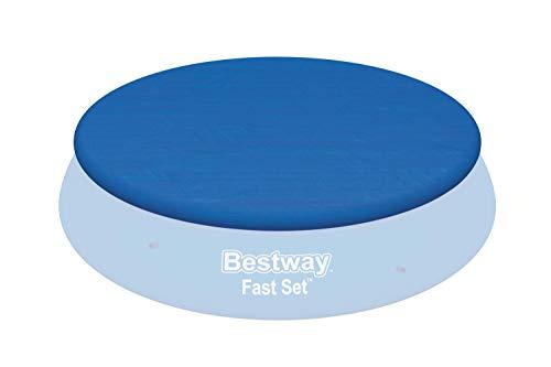 Bestway Flowclear PE-Abdeckplane, nur für Fast Set Pool  396 cm, blau