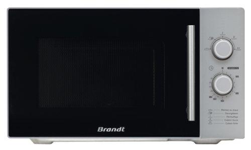 Brandt SM2602S Four à Micro Ondes Classique Pose Libre 26 L 900 W Silver