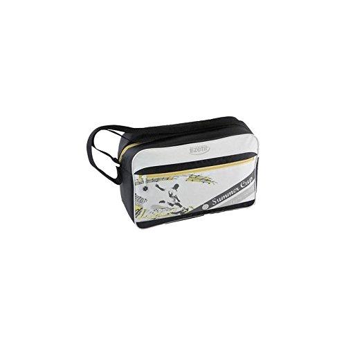 Ezetil Kühl Tasche SummerCup 12 Kühl Beutel weiß, schwarz, gelb 11.4 l EEK=n.rel. Zeilenstil (Schwarz N Gelb)