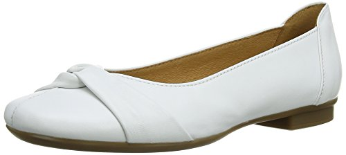 Gabor Frost, Ballerines Femme Blanc (White Leather)