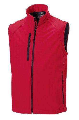 Jerzees - Manteau sans manche - Sans manche - Femme Rouge - Red - Classic Red