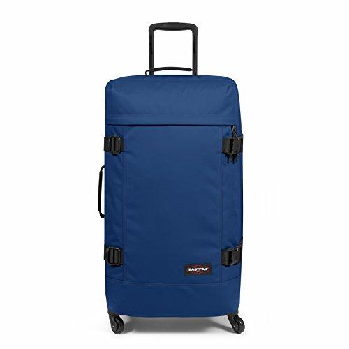 Eastpak TRANS4 L Equipaje de mano, 75 cm, 80 liters, Azul (Bonded Blue)